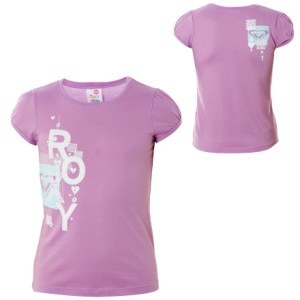 Roxy Dance Off T-Shirt - Short-Sleeve - Little Girls