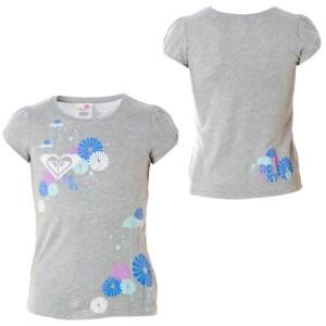 Roxy Bouquet Of Daisies T-Shirt - Short-Sleeve - Little Girls