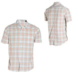 Quiksilver Card Button-Down Shirt - Short-Sleeve - Mens