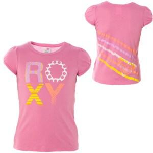 Roxy Yo-Yo You Shirt - Short-Sleeve - Little Girls