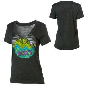 Roxy Kiwi V-Neck T-Shirt - Short-Sleeve - Womens