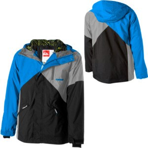 Quiksilver Shred Flanders Insulated Jacket - Mens