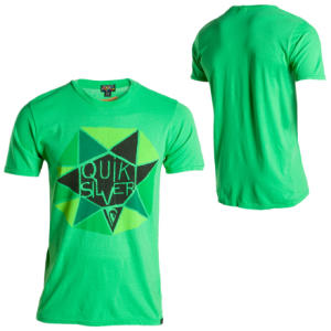 Quiksilver Diamond Diablo Slim T-Shirt - Short-Sleeve - Mens