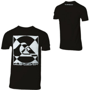 Quiksilver Arcade Slim-Fit T-Shirt - Short-Sleeve - Mens
