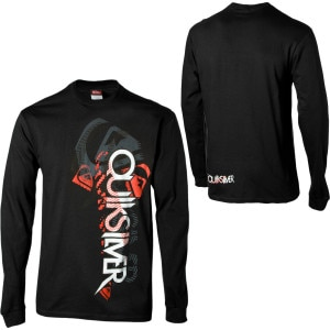 Quiksilver Final Descent T-Shirt - Long-Sleeve - Mens