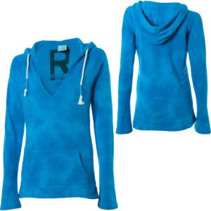 Roxy Beach Bum Tie Dye Hooded Pullover Sweatshirt - Womens
