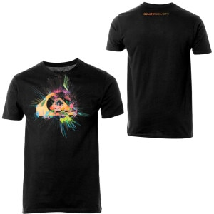 Quiksilver Spin Art Slim-Fit T-Shirt - Short-Sleeve - Mens