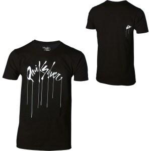Quiksilver Wet Paint Slim-Fit T-Shirt - Short-Sleeve - Mens