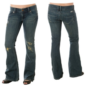 Roxy Rosilyn Destroy Denim Pant - Womens