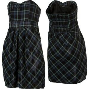Roxy Punk Princess Plaid Dress - Womens