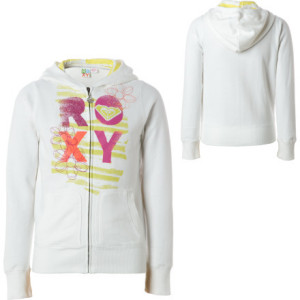 Roxy Melrose Petal Full-Zip Hooded Sweatshirt - Girls