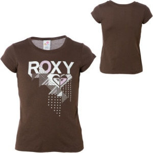 Roxy Sticker Sticker T-Shirt - Short-Sleeve - Little Girls