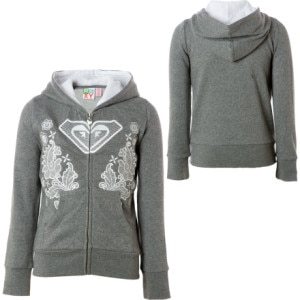 Roxy Living Free Full-Zip Hooded Sweatshirt - Girls