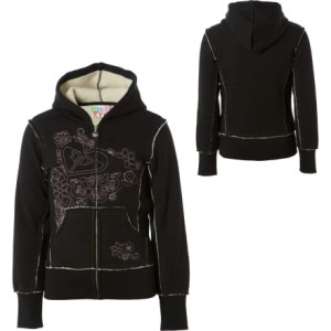 Roxy Hot Cider Full-Zip Hooded Sweatshirt - Girls