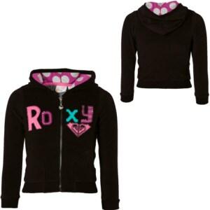 Roxy Giddy Up Full-Zip Hooded Sweatshirt - Little Girls