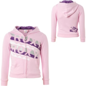Roxy Secret Agent Full-Zip Hooded Sweatshirt - Little Girls