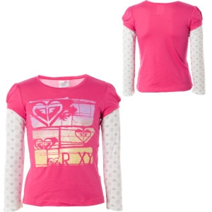 Roxy Catch The Sun T-Shirt - Long-Sleeve - Little Girls