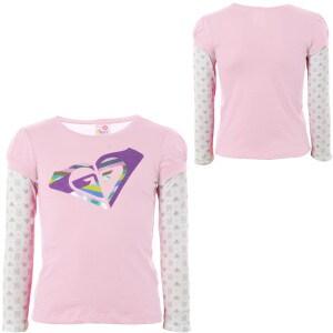Roxy Club Dub T-Shirt - Short-Sleeve - Little Girls