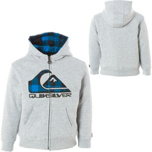 Quiksilver Hatchet Full-Zip Hooded Sweatshirt - Boys