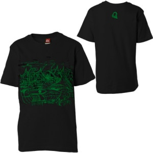 Quiksilver Death Sets T-Shirt - Short-Sleeve - Boys