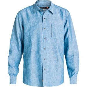 Quiksilver Waterman Burgess Isle Shirt - Long-Sleeve - Men's