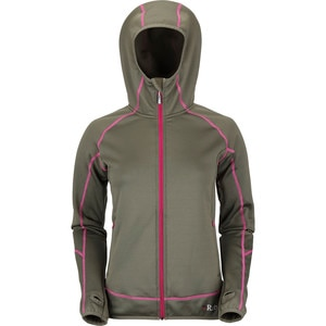 Rab Power Stretch Hooded Fleece Jacket - Women's