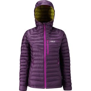 Rab Microlight Alpine Hooded Down Jacket - Women's