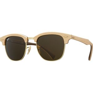 Ray-Ban Clubmaster Wood Sunglasses