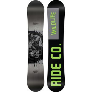 Ride Wild Life Snowboard - Wide