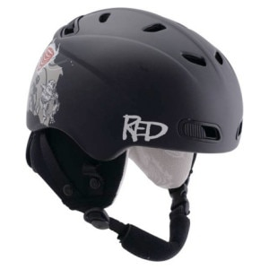 Red Buzzcap Helmet - Kids