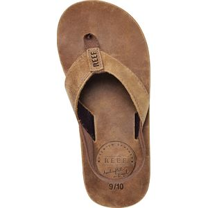 Reef Grom Leather Smoothy Flip Flop - Boys'