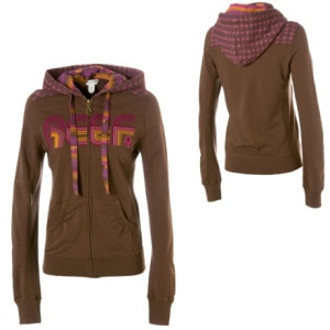 Reef Anthem Full-Zip Hooded Sweatshirt - Womens