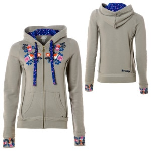 Reef Poppy Full-Zip Hooded Sweatshirt - Womens