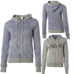 Reef Sanctuary Full-Zip Hooded Sweatshirt - Womens