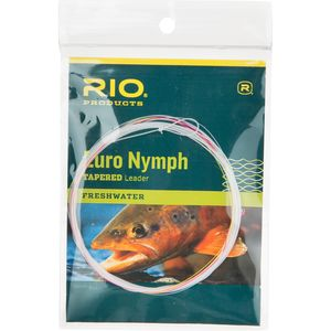 RIO Euro Nymph Tapered Leader with Tippet Ring