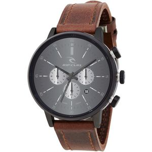 Rip Curl Drake Chrono Midnight Leather Watch