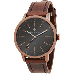 Rip Curl Drake Bronze Leather Watch