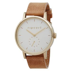 Rip Curl Circa Gold Leather Watch - Women's