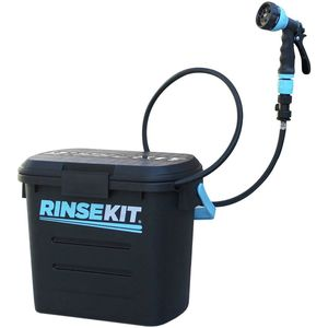 RinseKit Pressurized Portable Shower Hose