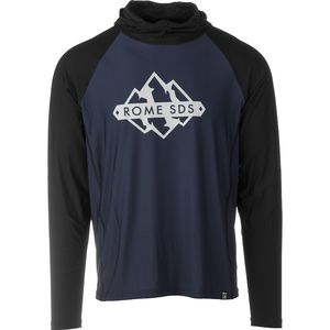 Rome Deeptrack Ecowick Hooded Top - Men's