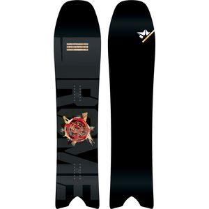 Rome Pow Division Swallow Tail Snowboard