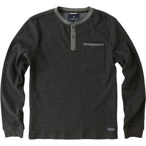 Roark Revival Dog Hair Knit Henley Shirt - Men's