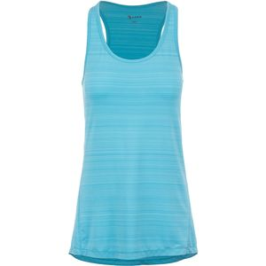 Arra Shadow Stripe Hi Low Racerback Tank Top - Women's