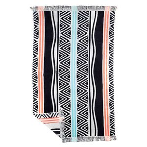 Ruby Mint Tropicana Fringe Towel