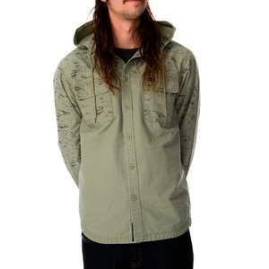 RVCA Surplus Hooded Shirt - Long-Sleeve - Men's