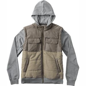 RVCA Puffer Wayward Hooded Jacket - Boys'