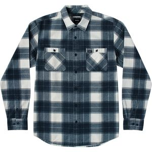 RVCA Wayman Plaid Flannel Shirt - Long-Sleeve - Men's