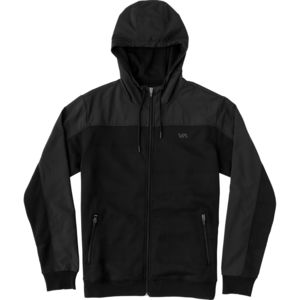 RVCA Overlay Tech Hooded Fleece Jacket - Men's
