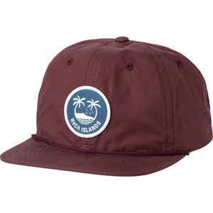 RVCA Islands Six Panel Snapback Hat
