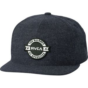 RVCA Defined Five Panel Snapback Hat